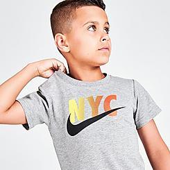 Little Kids' Nike Logo NYC T-Shirt