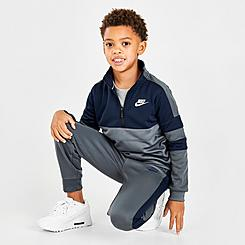 Boys' Little Kids' Nike Air Half-Zip Pullover and Jogger Pants Set