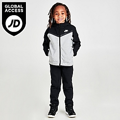 Boys' Little Kids' Nike Tech Fleece Full-Zip Hoodie and Joggers Set