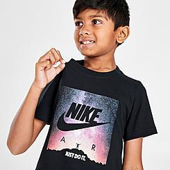 Boys' Little Kids' Nike Air Photo T-Shirt