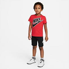 Little Kids' Nike Futura T-Shirt and Cargo Shorts Set