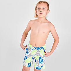 Boys' Little Kids' Nike Sportswear Allover Futura Print Shorts