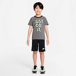 Boys' Little Kids' Nike Just Do It Swish Splash T-Shirt and Shorts Set