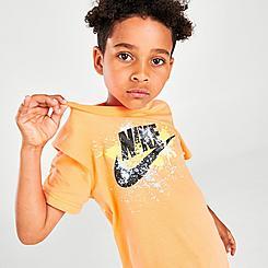 Kids' Little Kids' Nike Wild Run Splatter T-Shirt