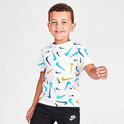 Boys' Little Kids' Nike Swooshfetti Parade T-Shirt