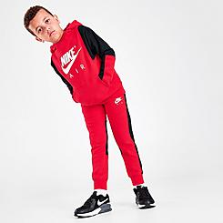 Boys' Little Kids' Nike Air Pullover Hoodie and Joggers Set