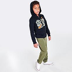 Boys' Little Kids' Converse Dino Full-Zip Hoodie and Jogger Pants Set