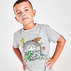 Boys' Little Kids' Converse Dino T-Shirt