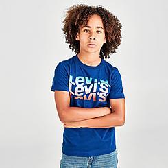 Boys' Levi's® Wrap Multi Logo T-Shirt