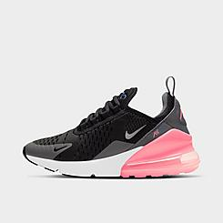 Girls' Big Kids' Nike Air Max 270 Casual Shoes