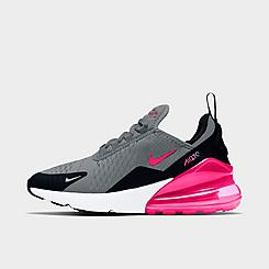 Girls' Big Kids' Nike Air Max 270 Casual Shoes