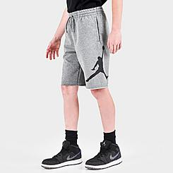 Boys' Jordan Jumpman Air Fleece Athletic Shorts