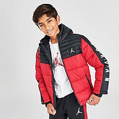 Boys' Jordan Colorblock Puffer Jacket