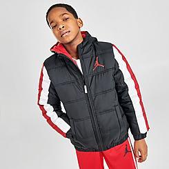 Boys' Jordan Nylon Puffer Jacket
