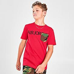 Boys' Air Jordan Jumpman Classics Camo Pocket T-Shirt