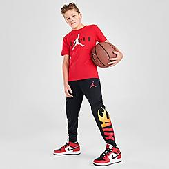 Boys' Jordan Jumpman Flame Jogger Pants