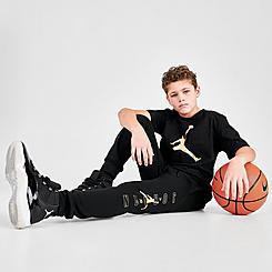 Boys' Air Jordan Highlights Fleece Jogger Pants