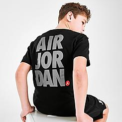 Boys' Jordan Jumpman Air Stack Graphic T-Shirt