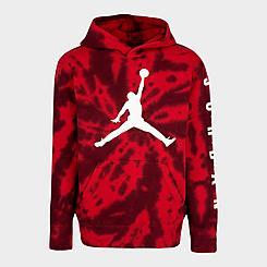 Boys' Jordan AJ6 Tie-Dye Pullover Hoodie