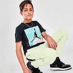 Boys' Big Kids' Jordan Mashup Patch T-Shirt