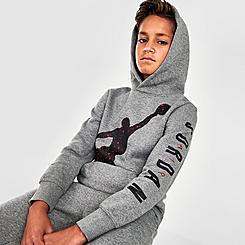 Boys' Jordan Speckle Jumpman Hoodie