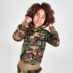 Boys' Jordan Essentials Camo Pullover Hoodie