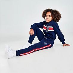 Boys' Jordan Paris Saint-Germain Fleece Jogger Pants