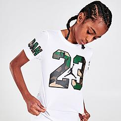 Boys' Jordan Jumpman 23 Woodland Camo T-Shirt