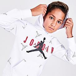 Boys' Jordan Jumpman All Over Print Hoodie