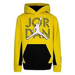 Boys' Jordan AJ4 Lightning Pullover Hoodie