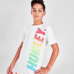 Boys' Big Kids' Hurley Vertical Logo T-Shirt