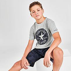Kids' Converse Jungle Camo Patch T-Shirt