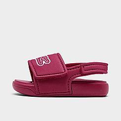 Girls' Toddler Lacoste L30 Slide Sandals