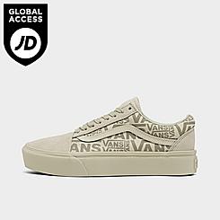 Women's Vans Old Skool Platform Casual Shoes