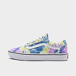 Women's Vans Tie-Dye ComfyCush Old Skool Casual Shoes