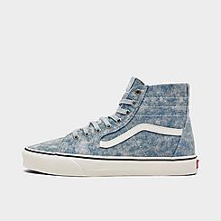 Vans Denim Destroy Sk8-Hi Casual Shoes