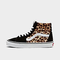 Women's Vans Sk8-Hi Animal Casual Shoes