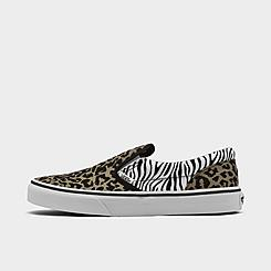 Girls' Big Kids' Vans Classic Slip-On Casual Shoes