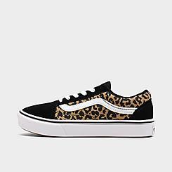Girls' Big Kids' Vans ComfyCush Old Skool Casual Shoes