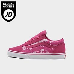 Girls' Big Kids' Vans Old Skool Premium Casual Shoes