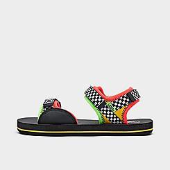 Little Kids' Vans Checkerboard Tri-Lock Casual Sandals