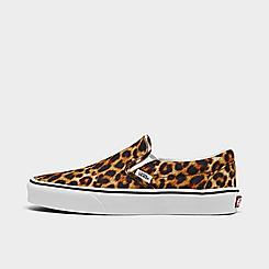 Women's Vans Classic Animal Slip-On Casual Shoes