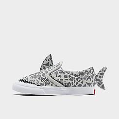 Kids' Toddler Vans Classic Slip-On V Shark Casual Shoes