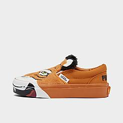 Little Kids' Vans x Project CAT Classic Slip-On V Wild Tiger Casual Shoes
