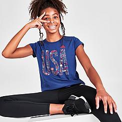 Girls' adidas USA Graphic T-Shirt