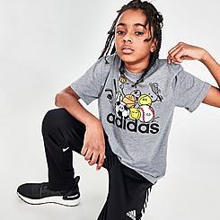 Kids' adidas All Here Heather T-Shirt