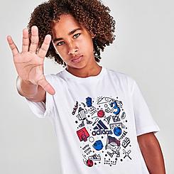 Boys' adidas Americana Doodle T-Shirt