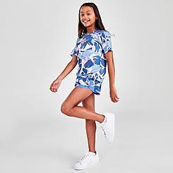 Girls' adidas Printed Woven 21 Shorts