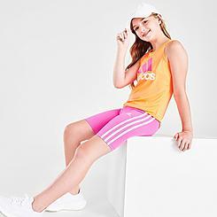Girls' adidas 3-Stripe Bike Shorts