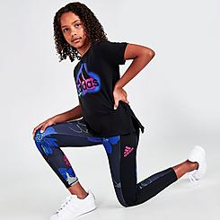 Girls' adidas AOP Pocket Leggings